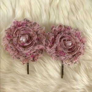 Romantic Upcycled Vintage Hairpins